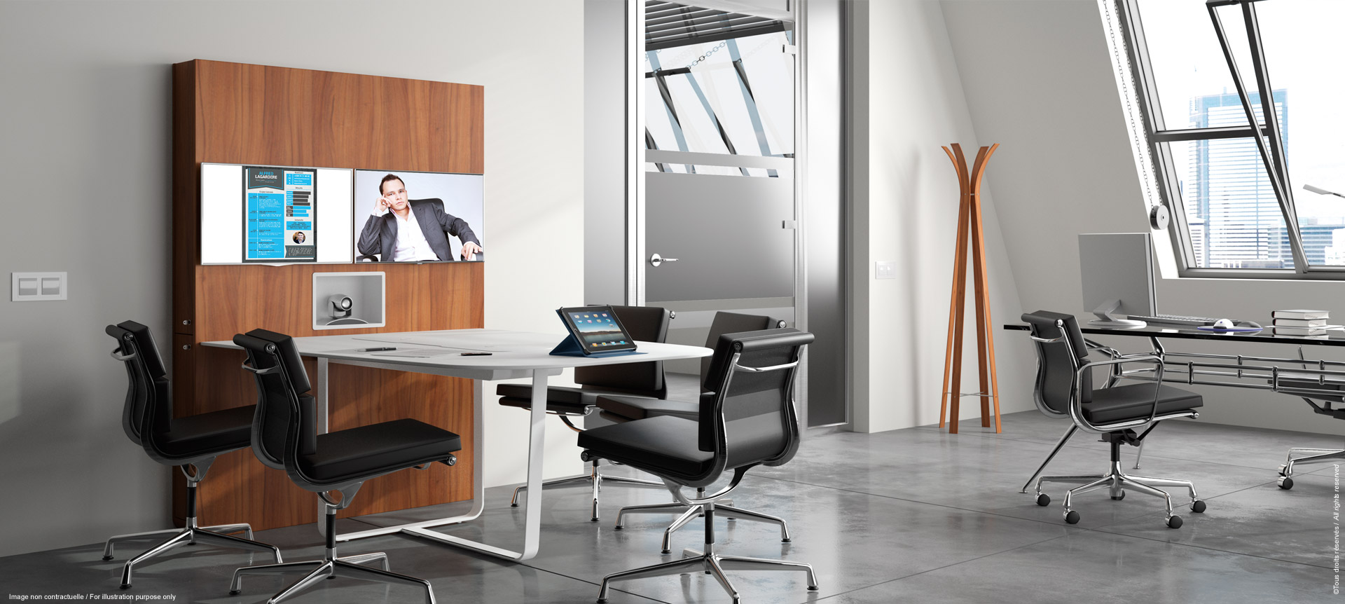 WEMEET CONFERENCE - Meeting table for coworking and videoconference