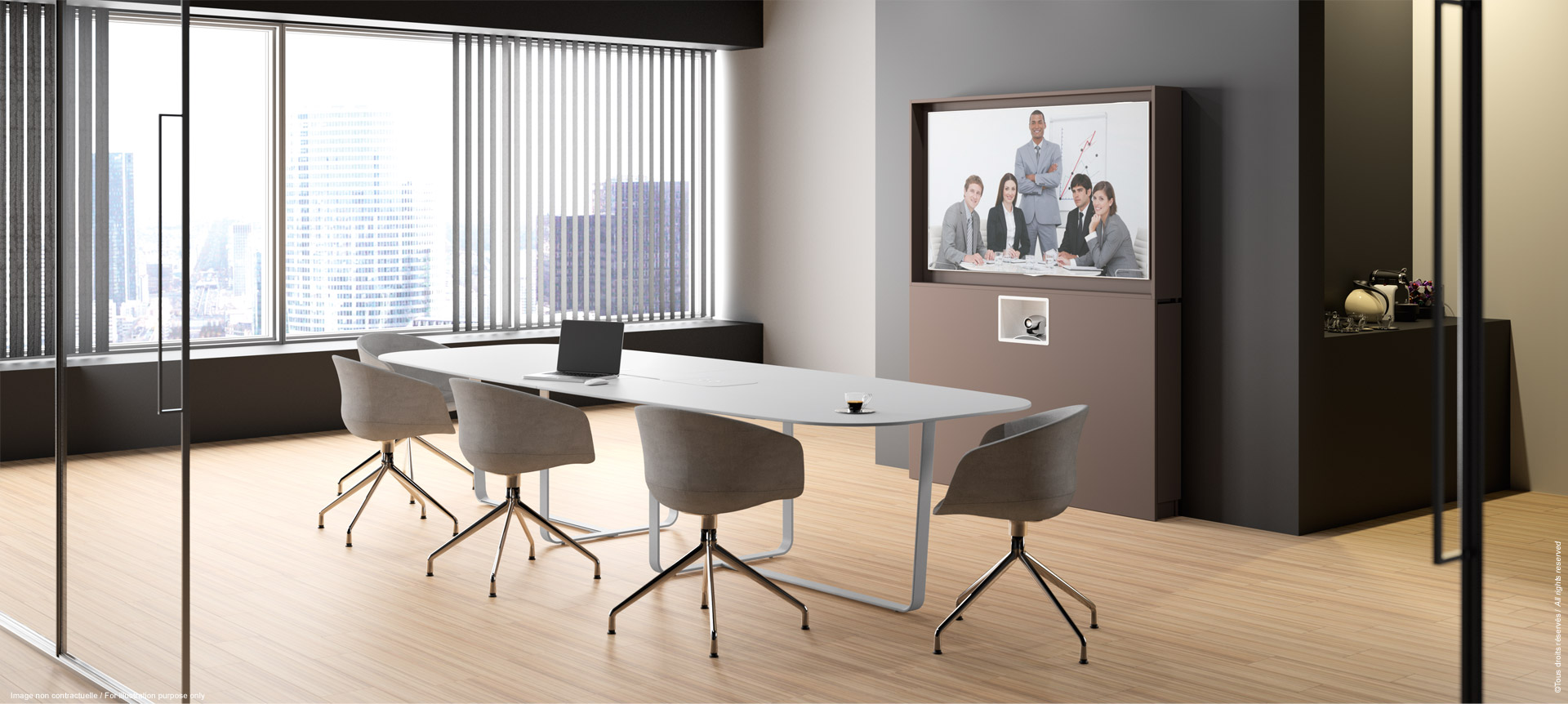 WEMEET REMOTE - Piece of furniture for meeting or video-conference