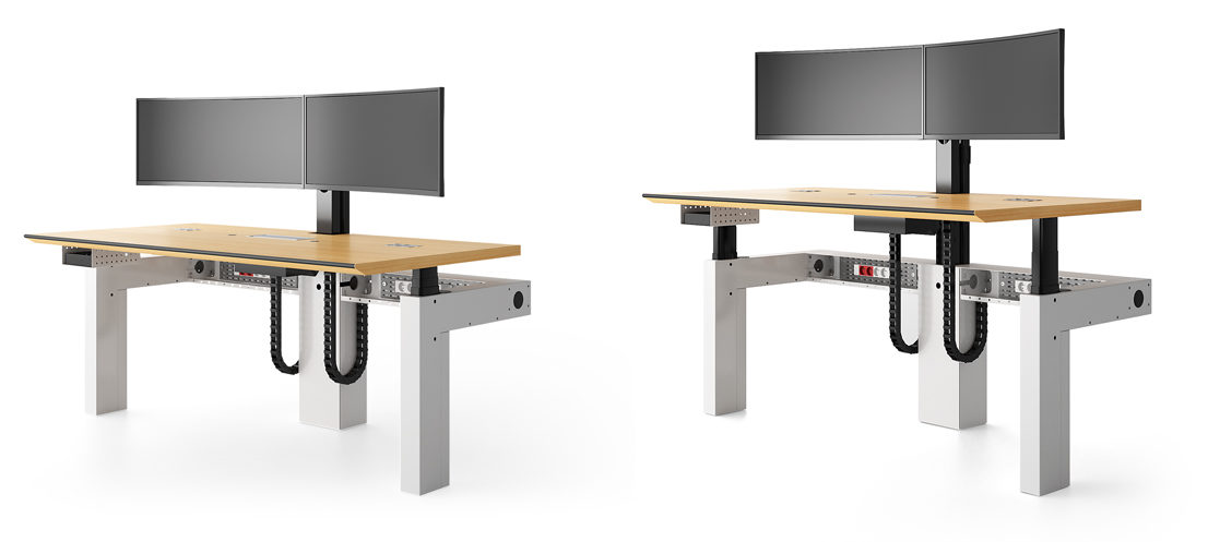 I-KUBE - Multiscreen and ergonomic workstation for control rooms