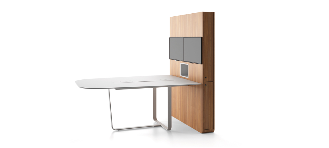 WEMEET CONFERENCE - Connected meeting table for coworking and videoconference