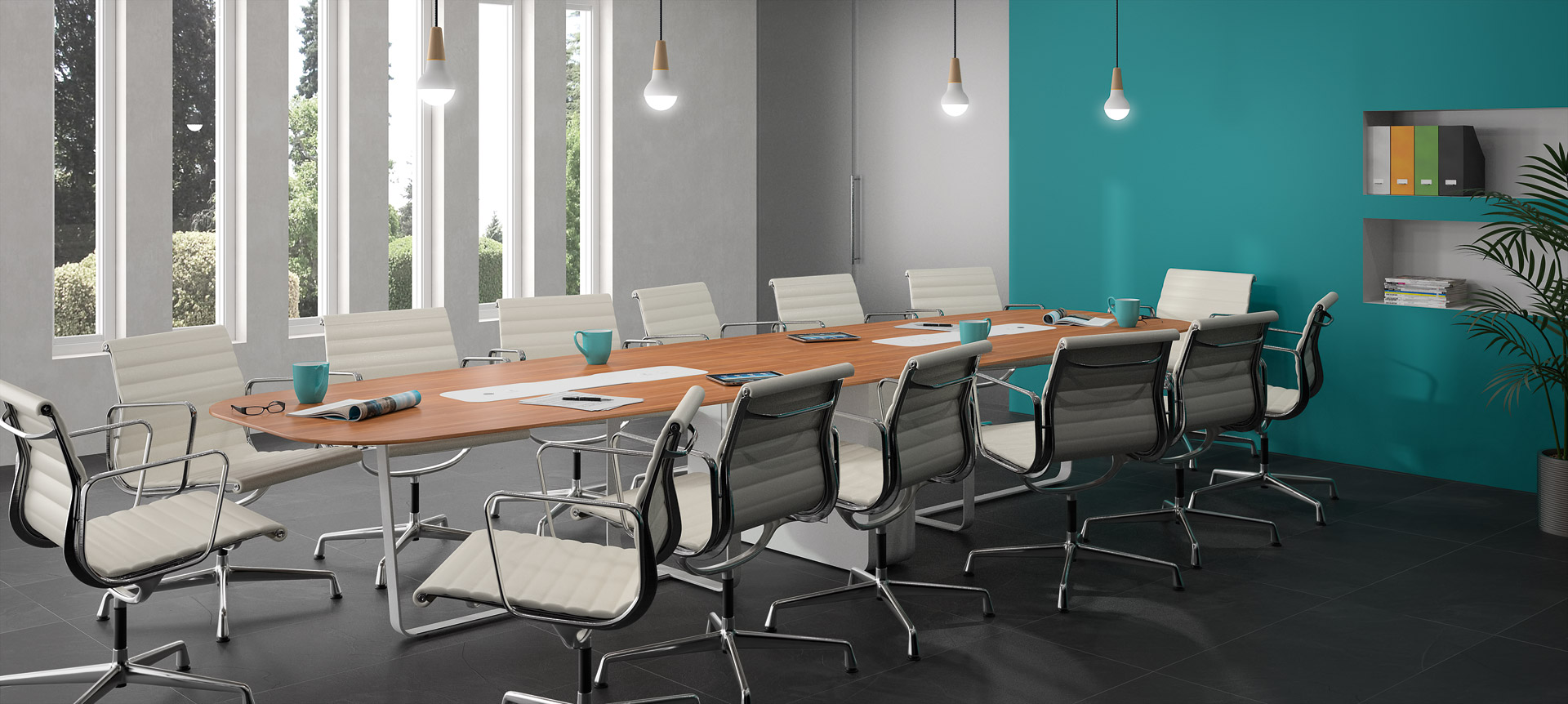 WEMEET MIXED - Table for meeting and coworking spaces