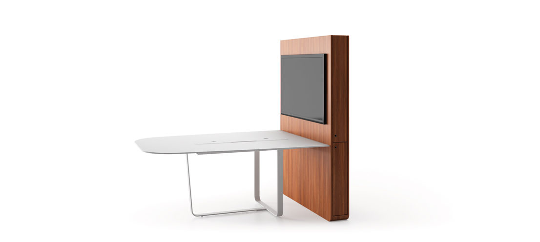 WEMEET SHARE FIXED - Versatile meeting table for collaborative work