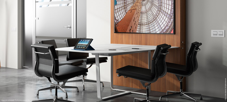 WEMEET SHARE FIXED - Versatile meeting table for coworking, collaborative work and meeting