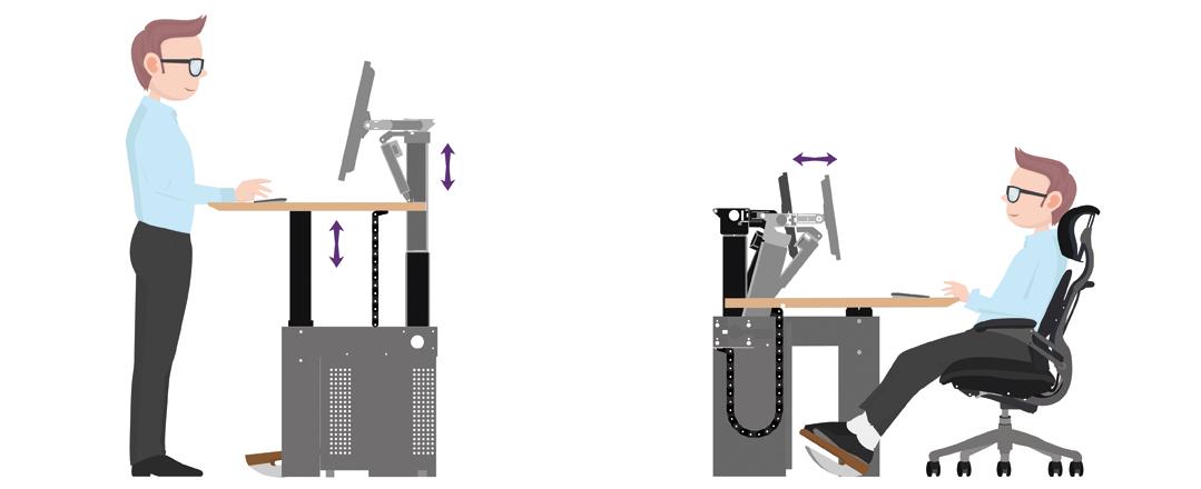 CRAIE DESIGN - I-Kube and ergonomics - fight against MSDs