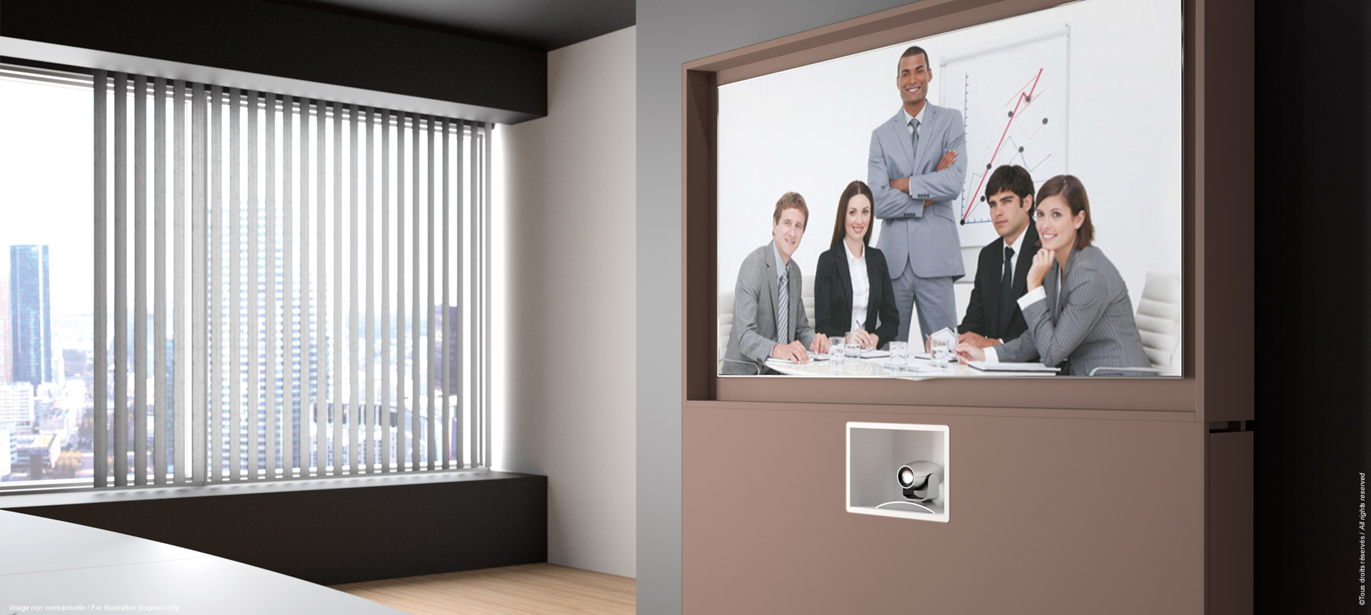 WEMEET REMOTE - Piece of furniture for video-conference room