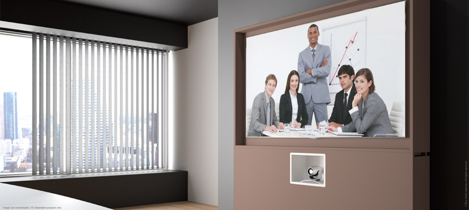 WEMEET REMOTE - Piece of furniture for video-conference space