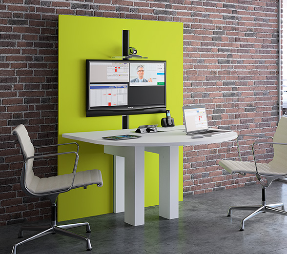 I-Share - The ergonomic table for meeting or video-conference