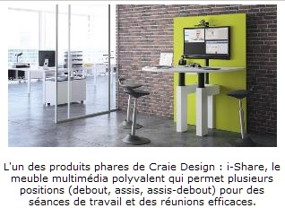 INFO BURO MAG - Article Craie Design becomes a trademark of elemen