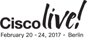 Logo Cisco Live Berlin 2017