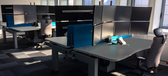 Multicreens ergonomic workstations for RTE