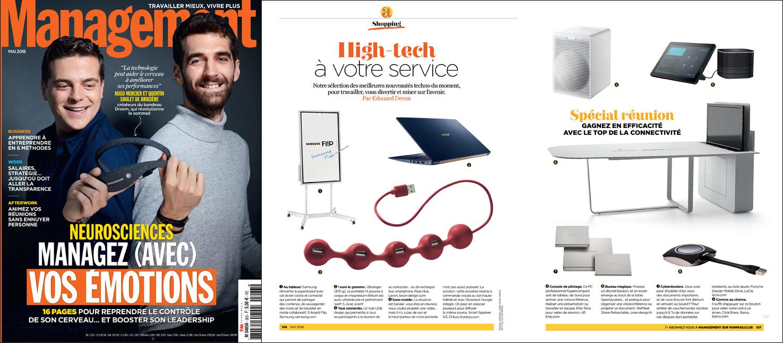 High tech article management magazine
