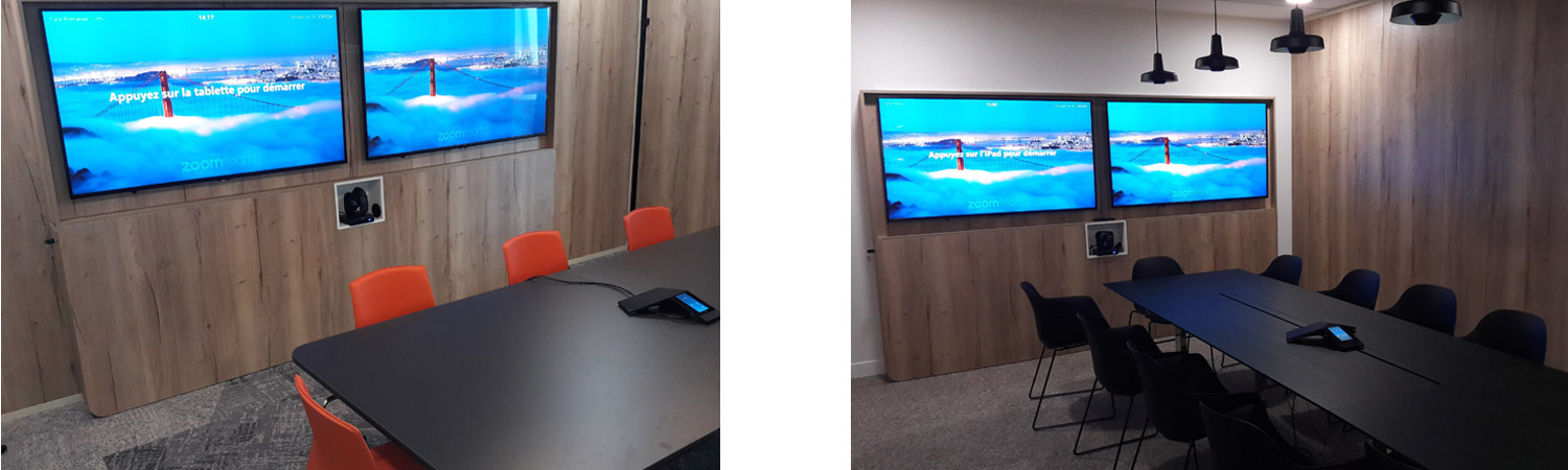 Meeting and video-conference room for SATEC