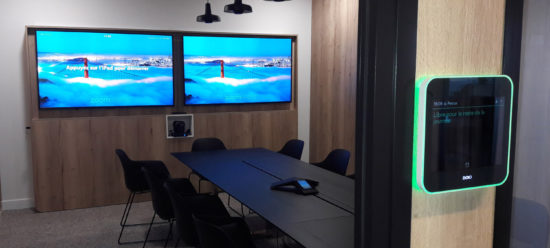videoconference room for SATEC