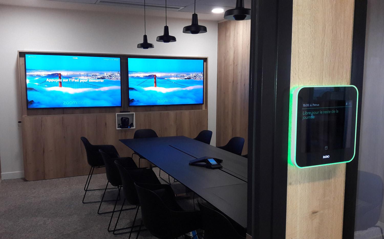 videoconference room for SATEC