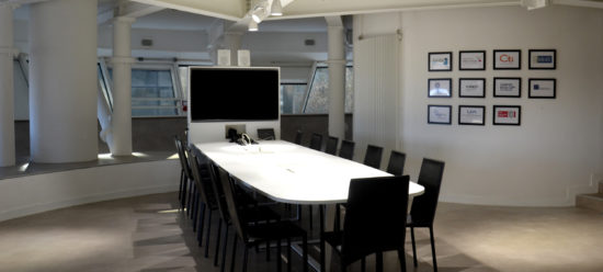 Videoconference furniture for SIGMA France