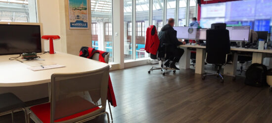 bespoke furniture for SNCF