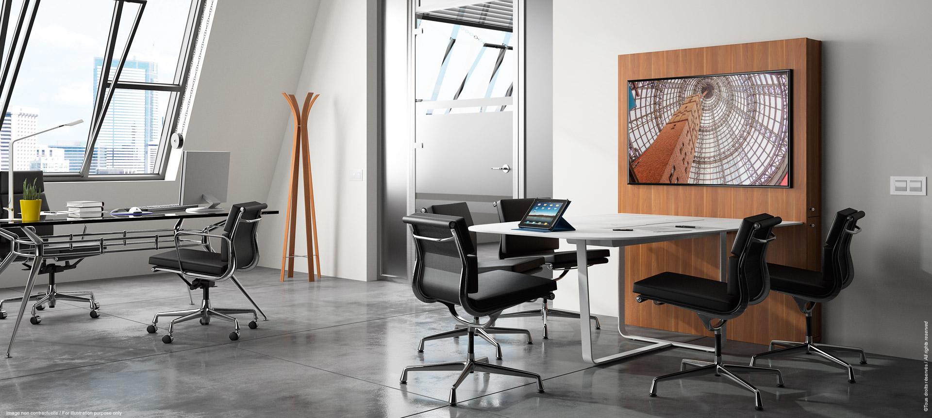 WEMEET SHARE FIXED - Table de réunion connectée avec écran