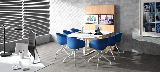 WEMEET CONFERENCE - espace de réunion modulable multimédia pour travail collaboratif