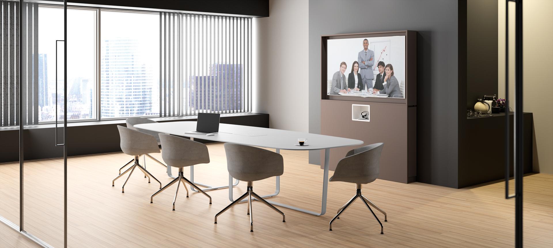 WEMEET REMOTE - Mobilier pour salle de réunion ou salle de visioconférence