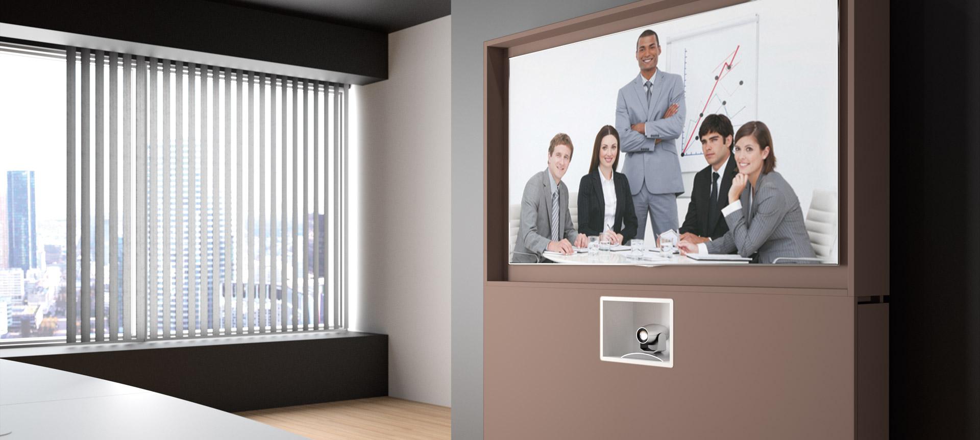 WEMEET REMOTE - Meuble connecté pour salle de visioconférence