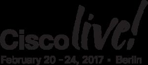 Logo Cisco Live Berlin 2017