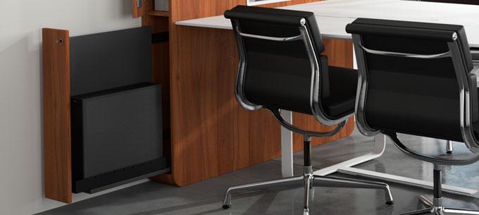 Rangement UC meuble visioconférence