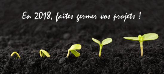 Carte voeux Craie Design 2018