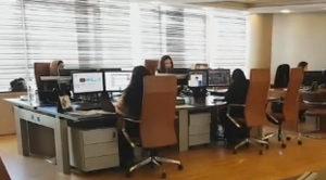 Poste opérateur I-Kube dans salle des marchés du Crédit Agricole du Maroc