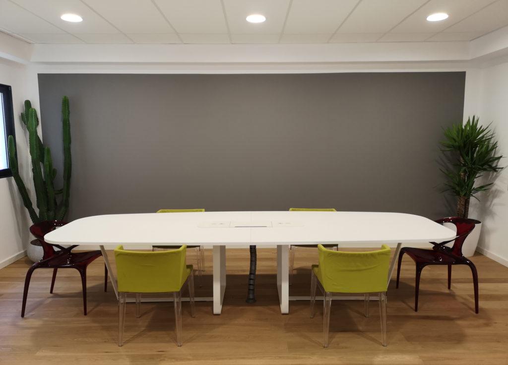 salle réunion et de repos biocentric