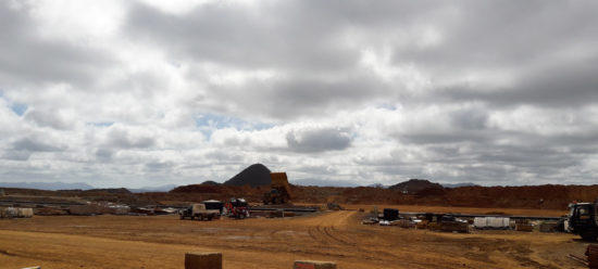 Mine de Nickel Koniambo Nouvelle-Calédonie