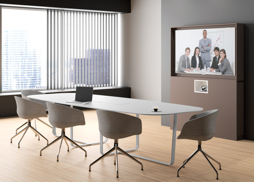 WeMeet remote pour huddle room