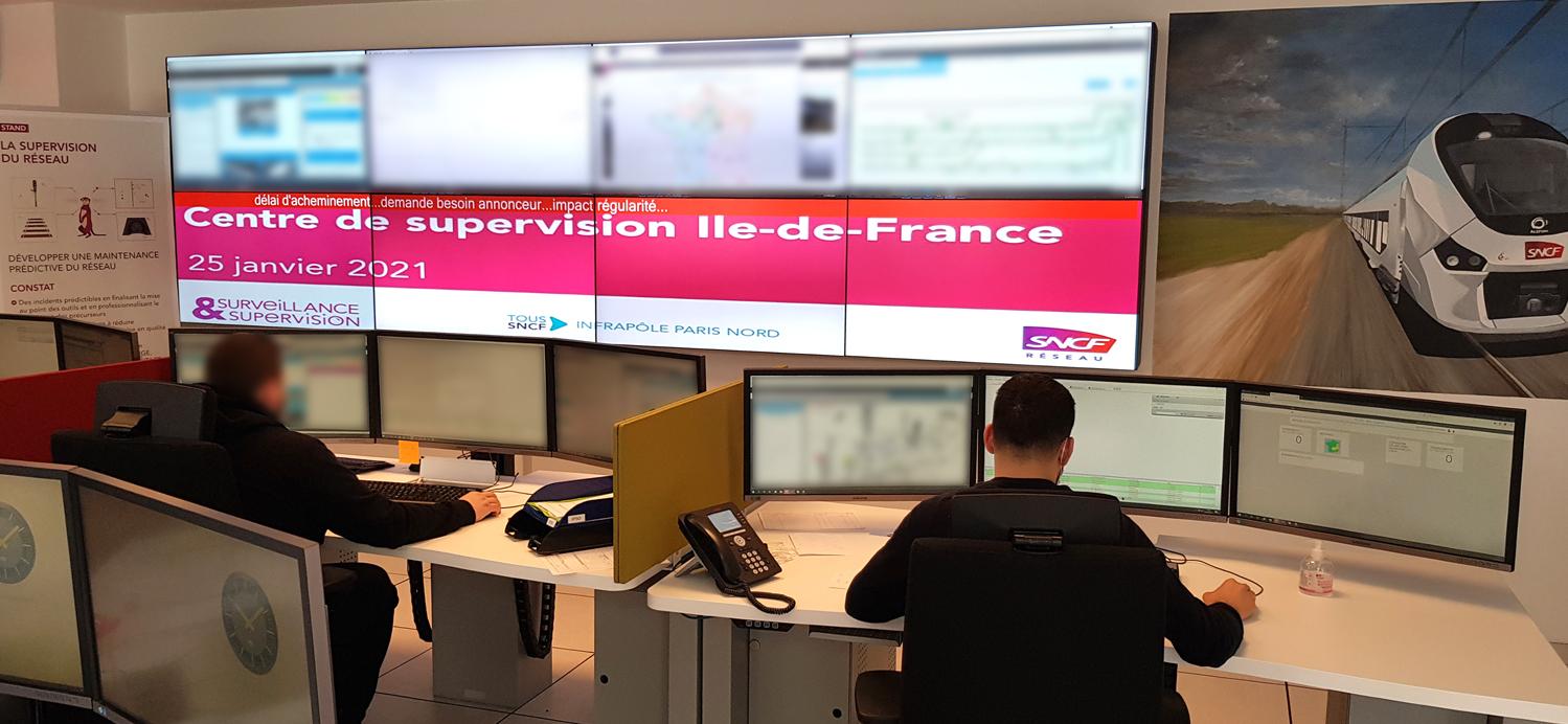 I-Kube postes de travail SNCF gare du nord