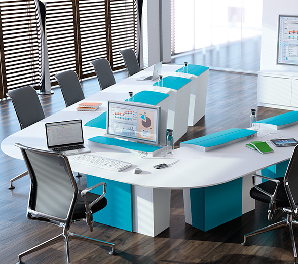 I-RISE - Versatile table for meeting ou training